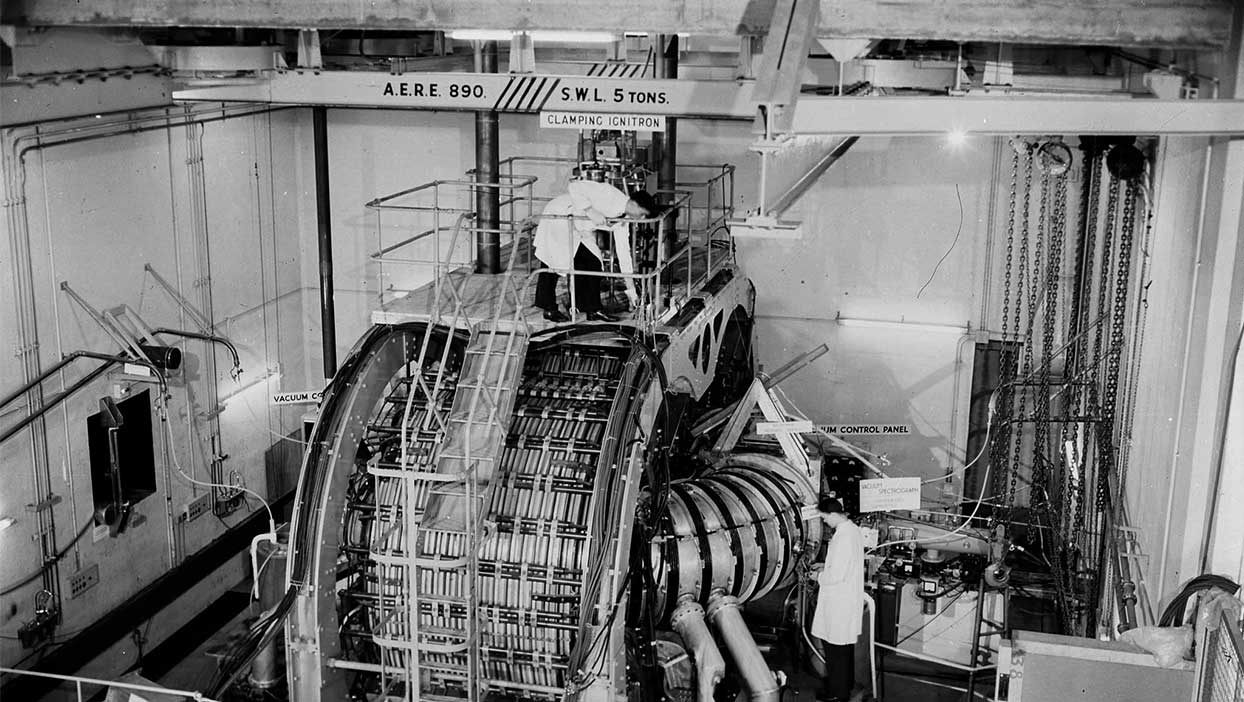 ZETA fusion experiment at Harwell