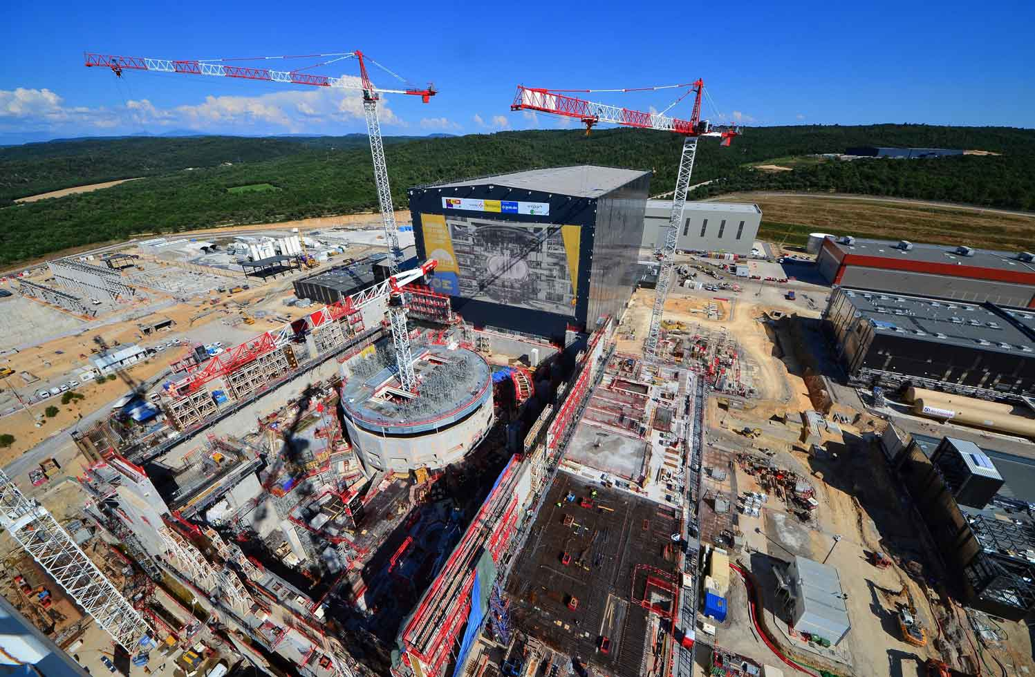 ITER construction site