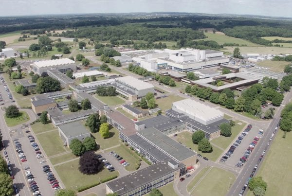 Aerial photo of Culham Science Centre