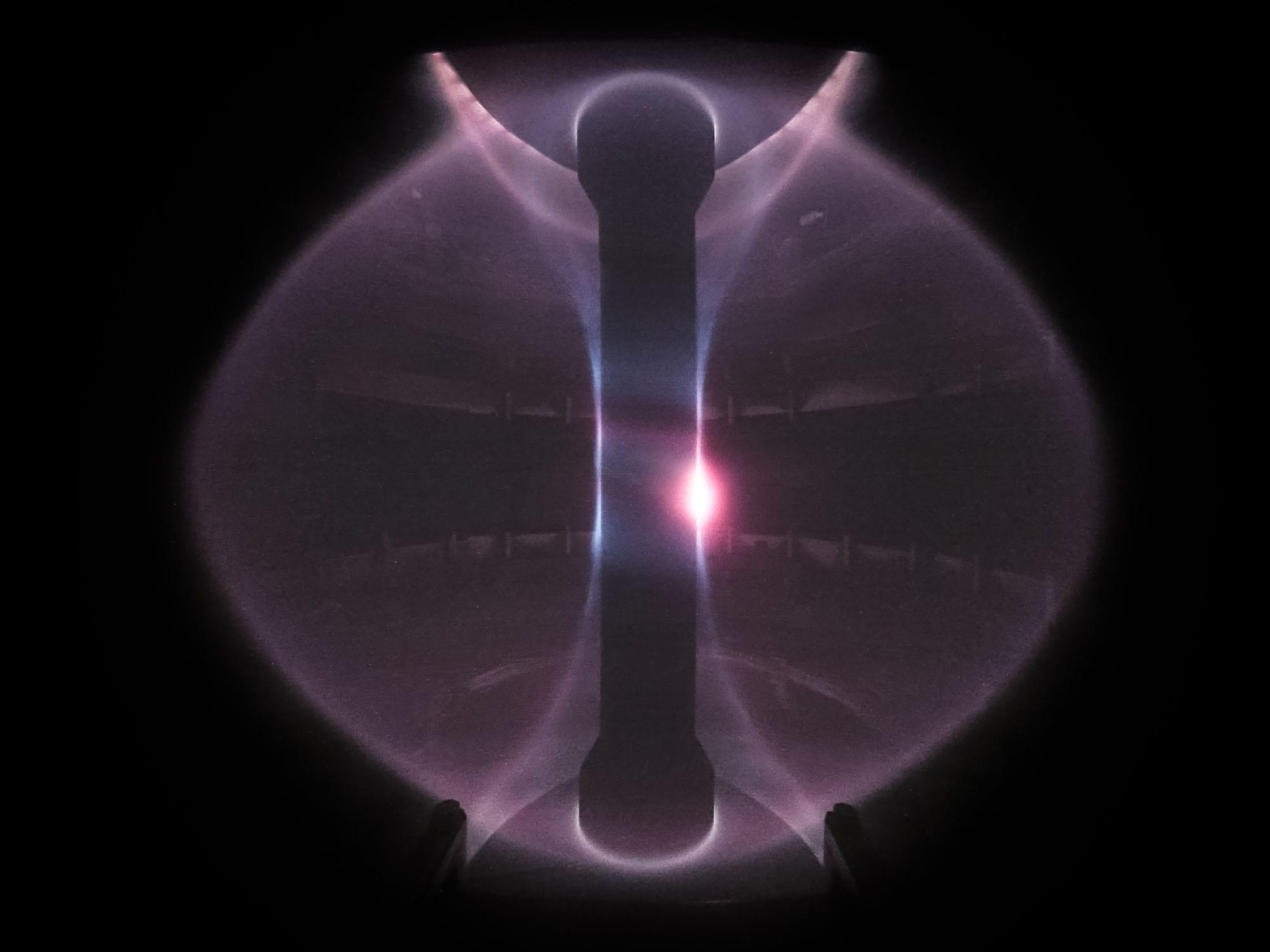 Plasma in the MAST spherical tokamak device