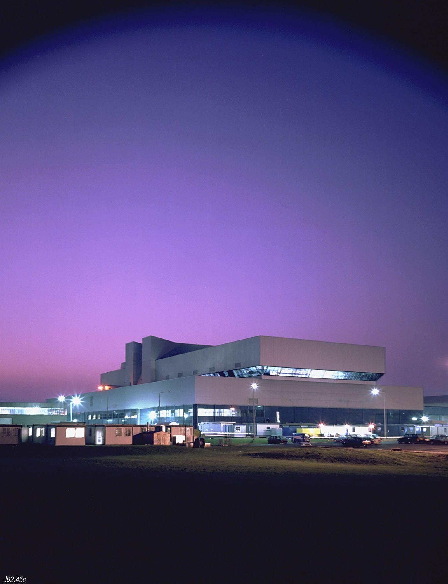 The JET buildings