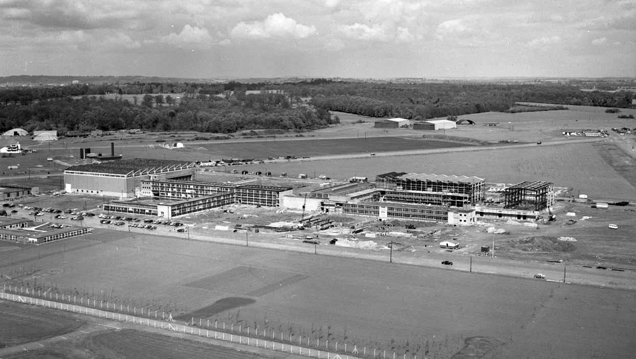 Culham Laboratory under construction
