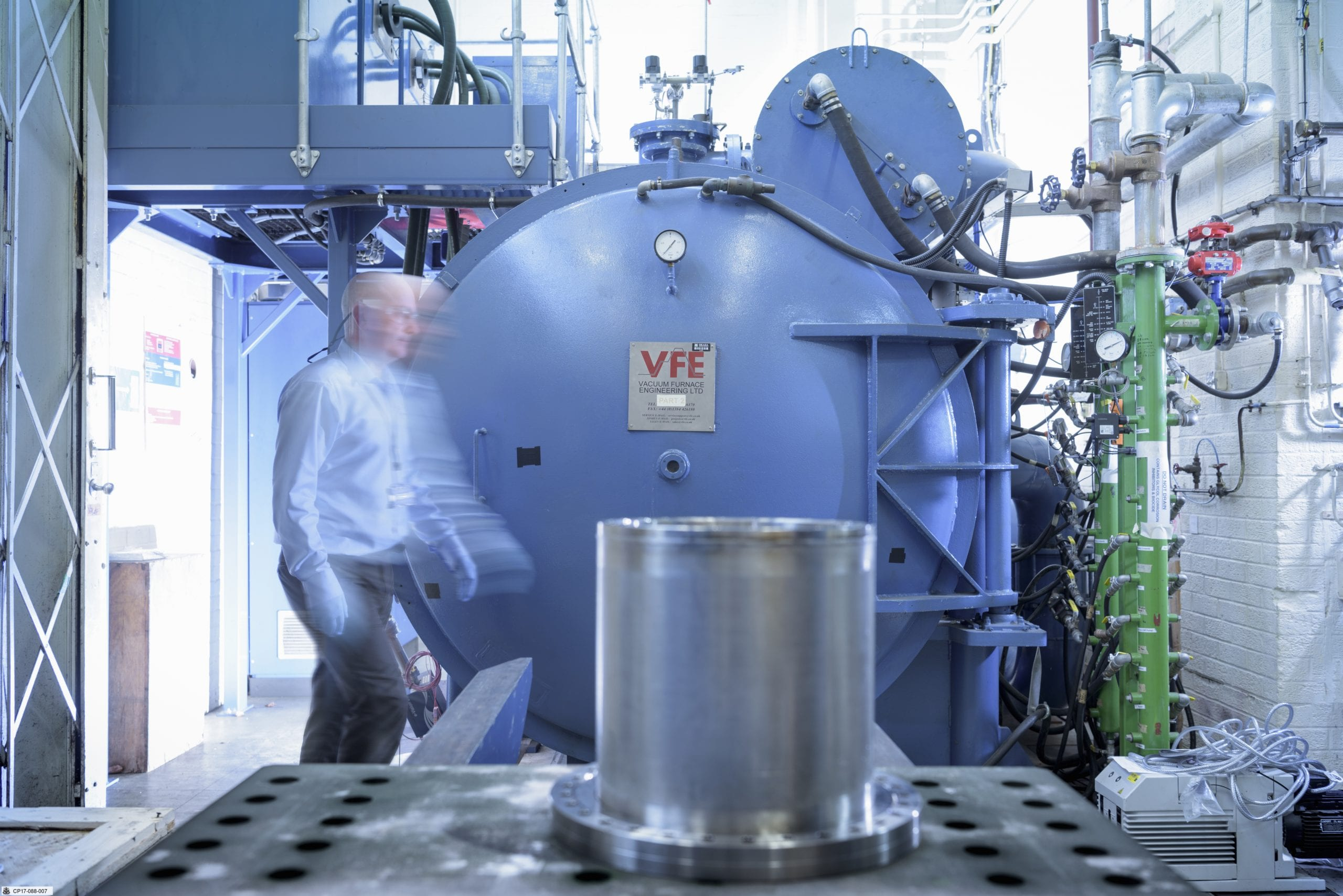 Vacuum Brazing; Heat Treatment Production Area