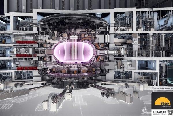 Illustration of ITER (courtesy ITER Organization)