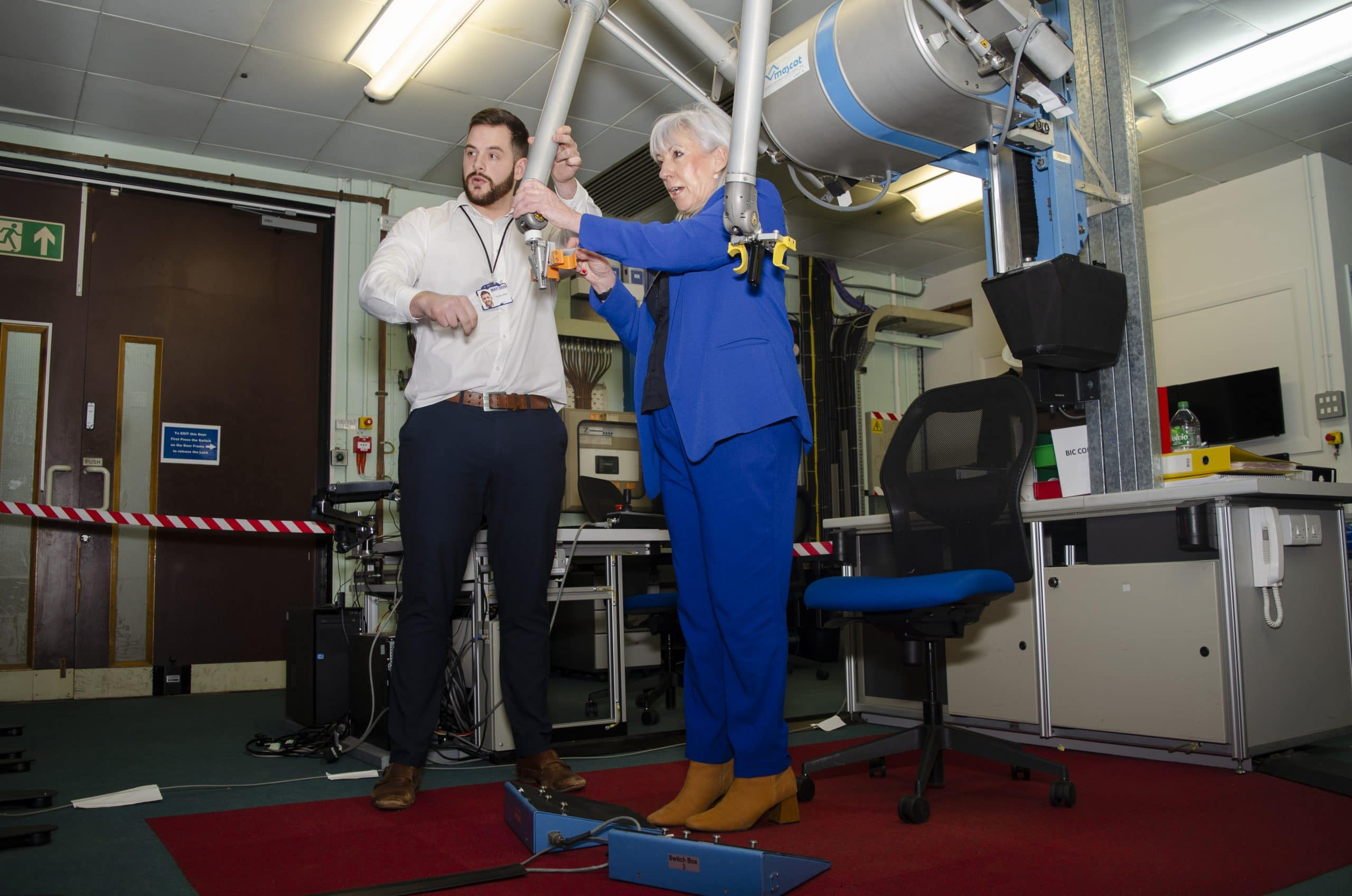 New Science Minister Amanda Solloway MP at CCFE for first major visit